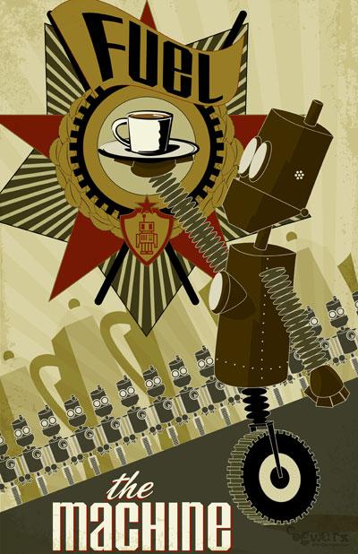 Fuel The Machine by cogwurx