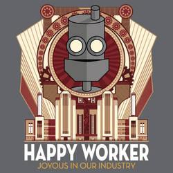 Happy Worker - Joyous in our Industry
