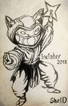 Inktober 2018 - Kennen by Shel-lD