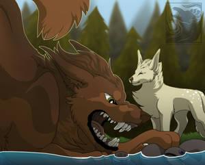 Begone You Monstrosity! by Dragon-Arc
