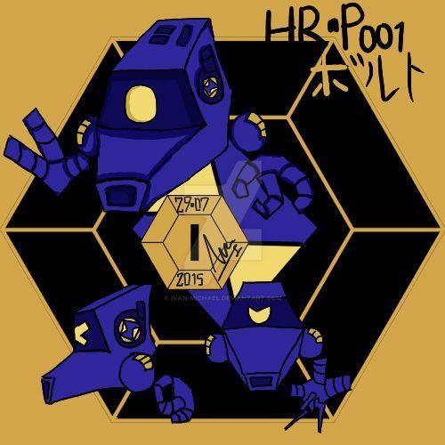 HR-P001 Bolt by ivan-michael