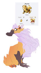 Pokemon fusion - Psynine by carlosthemanoflove
