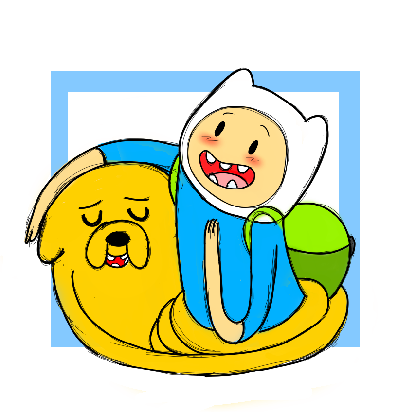 Finn and Jake: I love yah Buddy! by Mad-Hattress-Ari