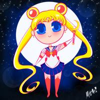 Sailor Moon Chibi by Mad-Hattress-Ari