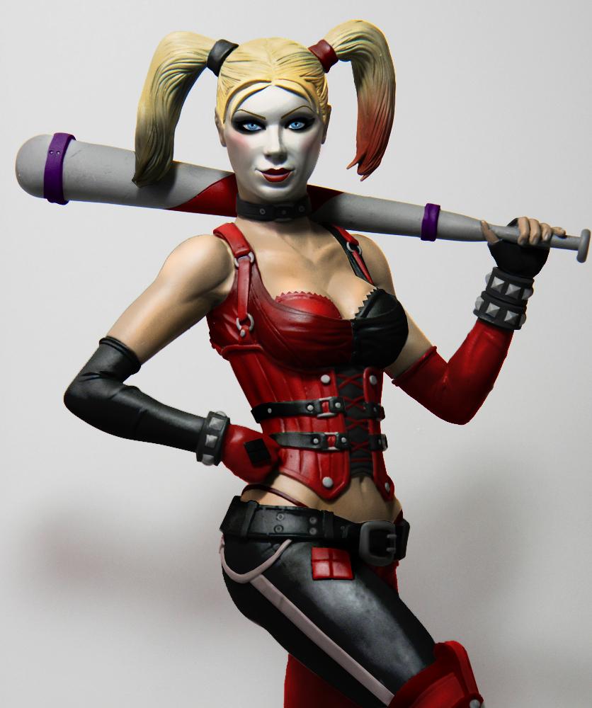 Harley Quinn:  Arkham City CU by SKBstudios