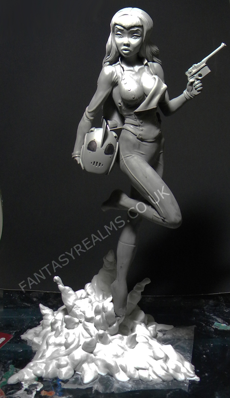 Betty, the Rocketeer (full) by SKBstudios