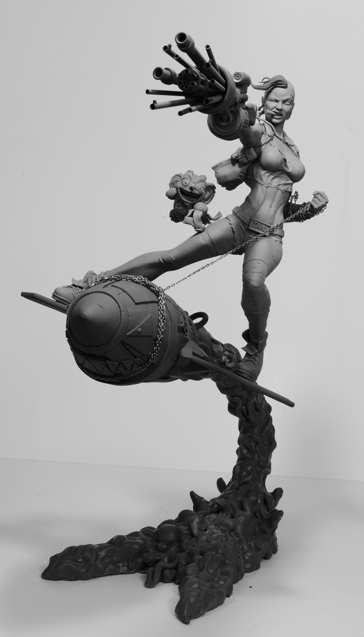 Tank Girl by seankylestudios