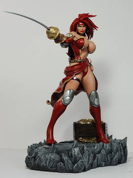 Battle Chasers: Red Monika