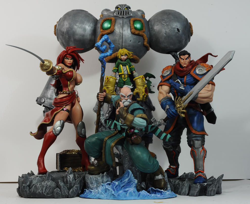 Battle Chasers by seankylestudios