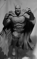 Batman (Adams style) alt angle by seankylestudios