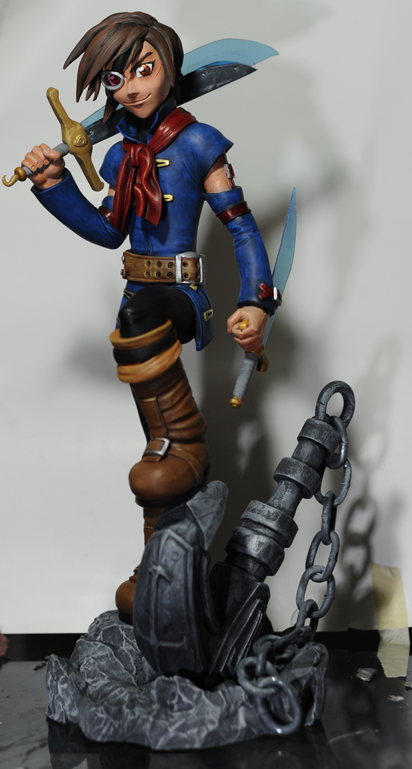 Skies of Arcadia: Vyse by SKBstudios