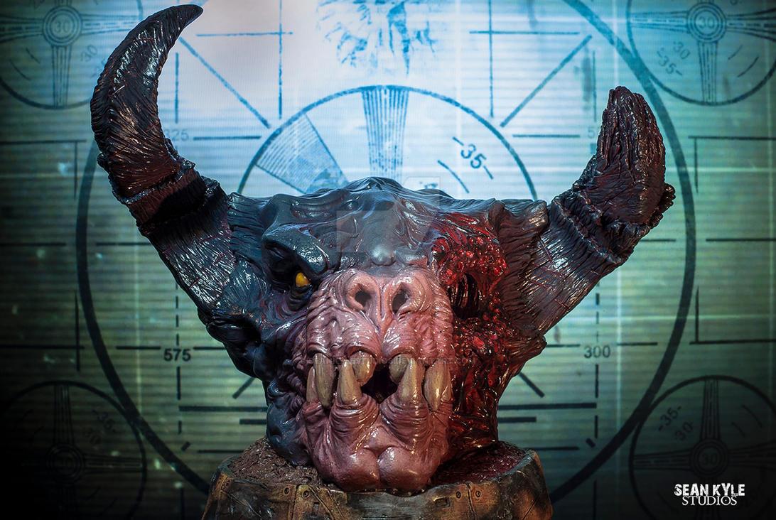 Deathclaw bust by seankylestudios