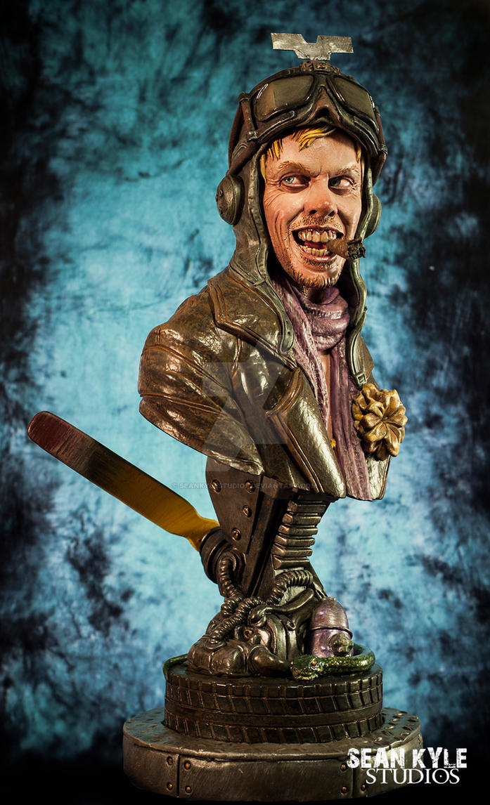 The Gyro Captain, 1/4 scale bust by seankylestudios