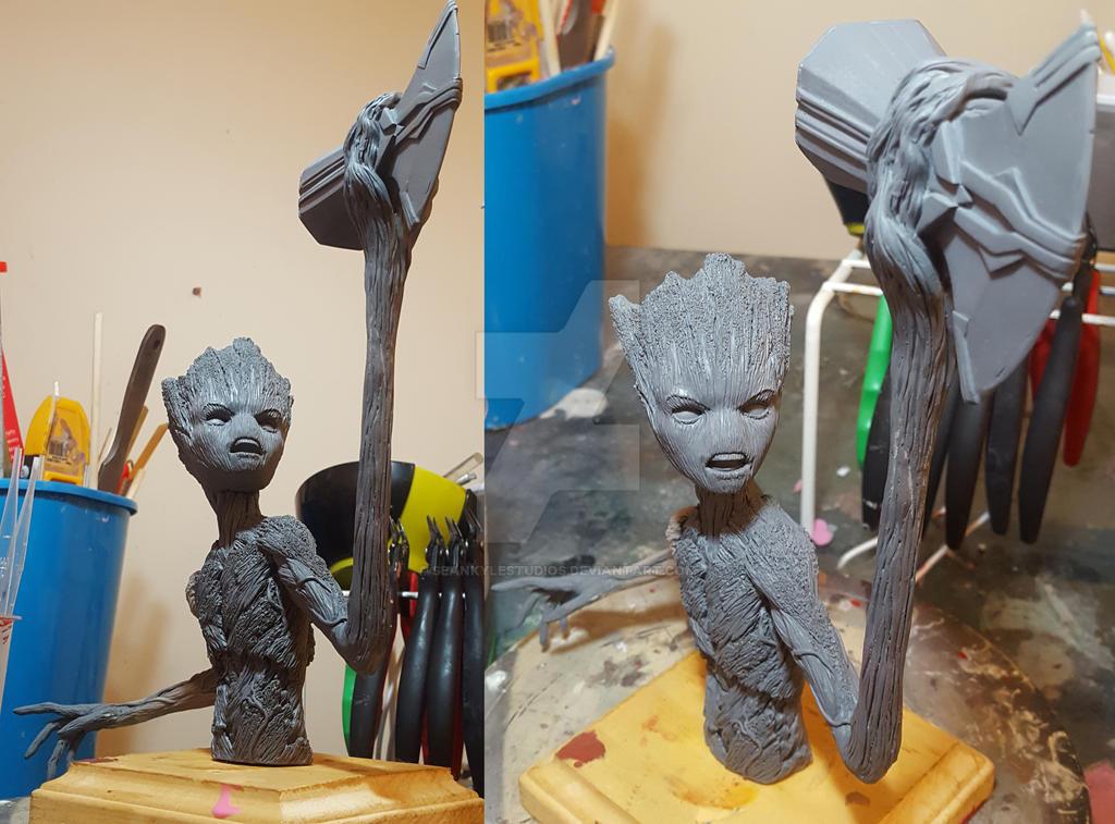 Groot Wip by seankylestudios