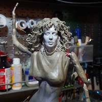 Weird Science 'Lisa' 1/6 scale figure WIP