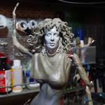Weird Science 'Lisa' 1/6 scale figure WIP by seankylestudios