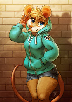 Hoodie Mouse