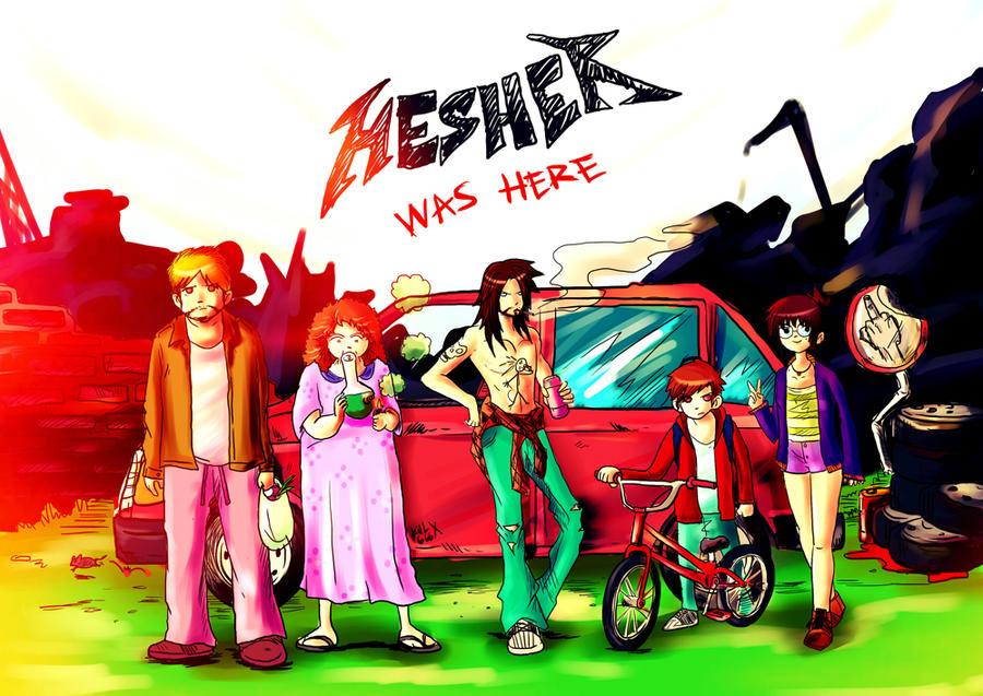 download hesher wallpaper