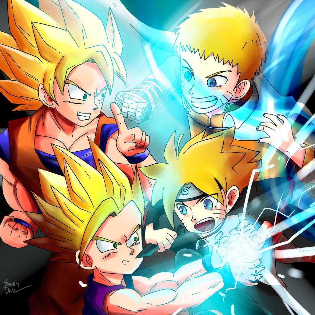 Convenience store Goku vs teen gohan Medical