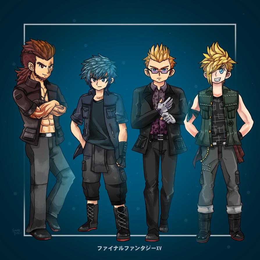 Final Fantasy XV by smokeragon
