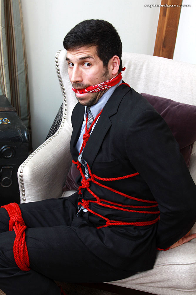 Leo Giamani Bound and Gagged by capturedguy