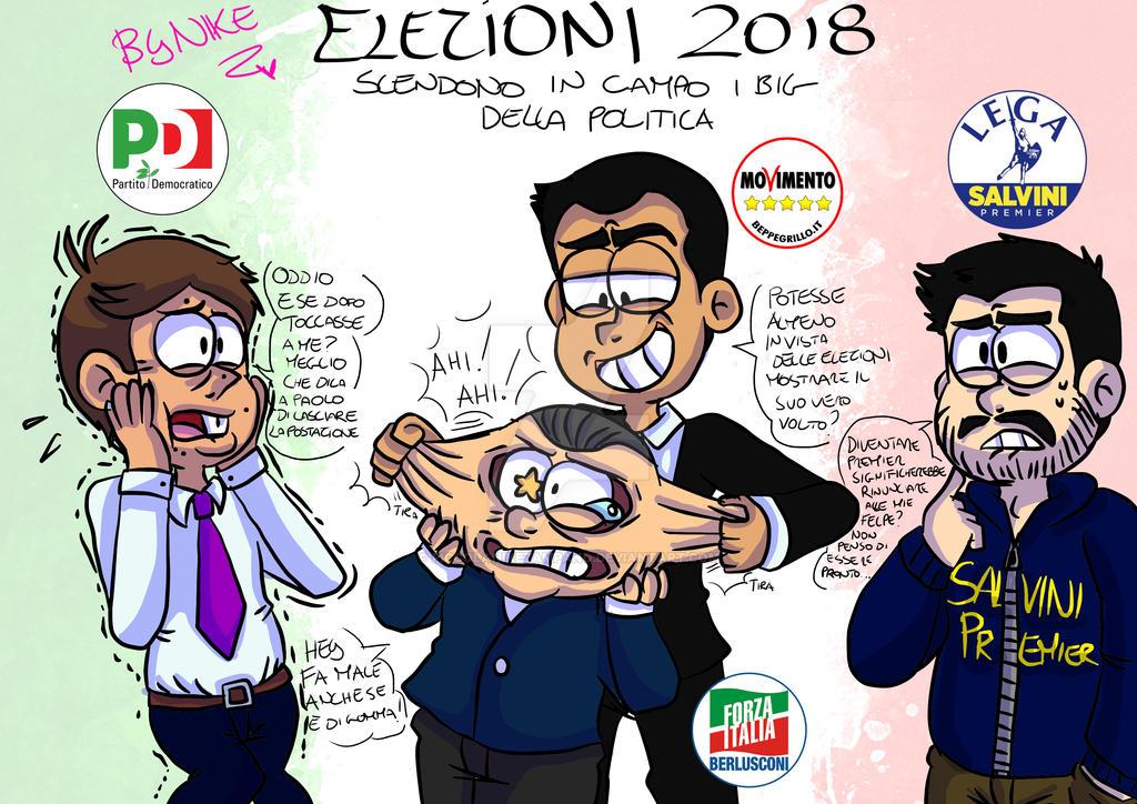 Elezioni Politiche 2018 - i Big della politica by PiccolaNikezampano