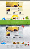 Photography Web Design by vasiligfx