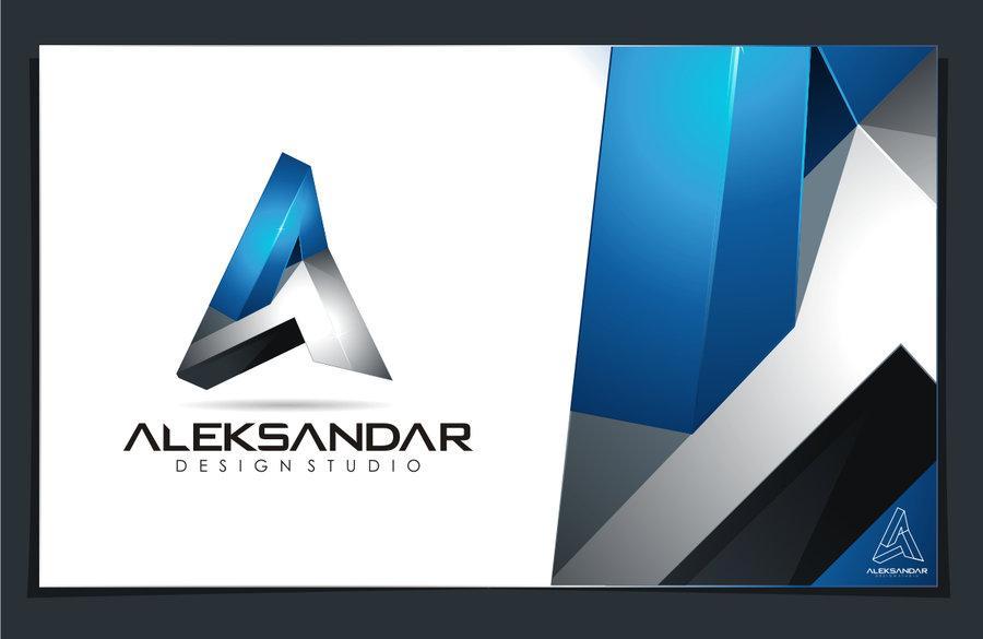 Aleksandar Studio Logo by vasiligfx