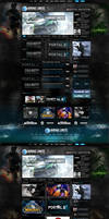 Gaming Unite Web Design
