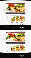 Pizza Business Web Design by vasiligfx