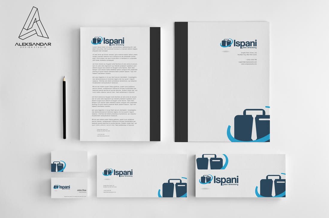 Ispani job directory logo design by vasiligfx on deviantart for Designer directory