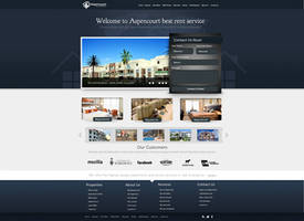 Rent Apartments Web Design by vasiligfx