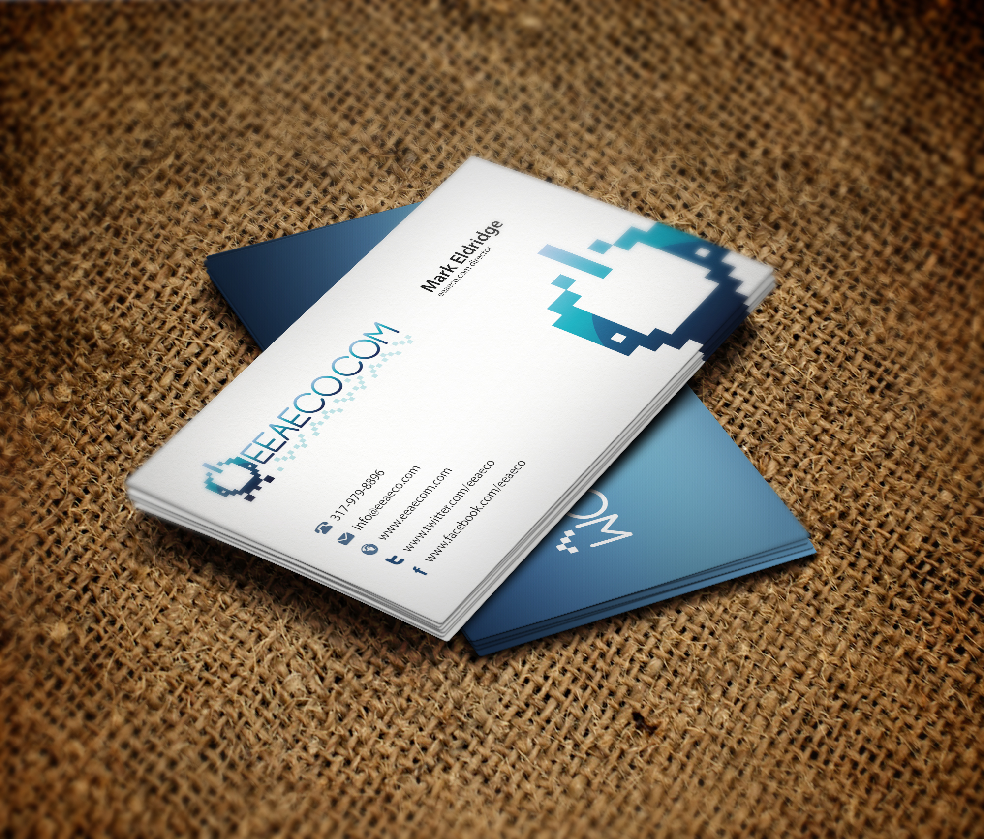 EEAECO.com Business Card Design by vasiligfx on DeviantArt