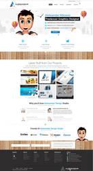 Aleksandar Design Studio Web Design by vasiligfx