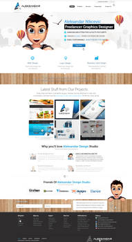 Aleksandar Design Studio Web Design
