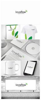 Love Raw Logo Design
