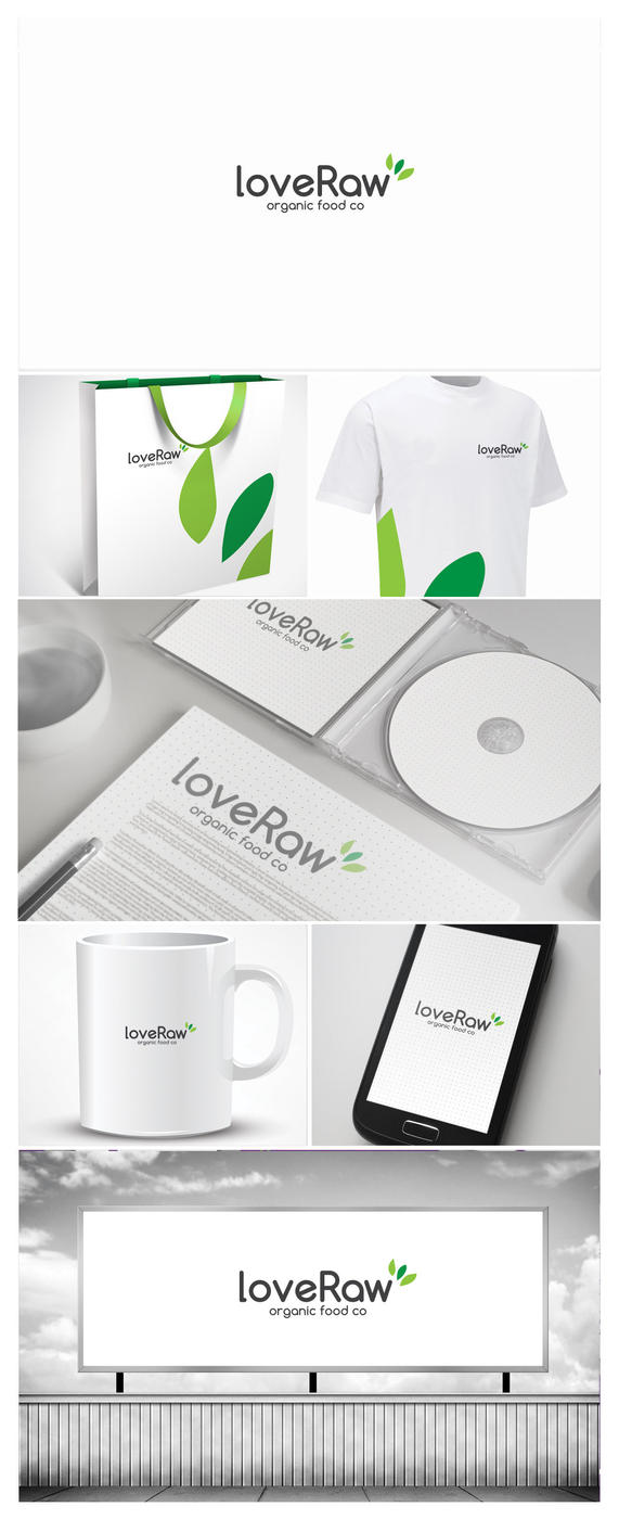 Love Raw Logo Design by vasiligfx