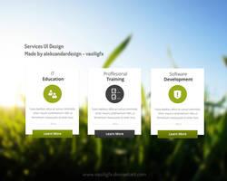 Service UI Freebie PSD Donwload Free by vasiligfx