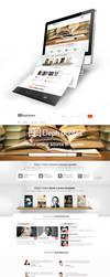 Book Quotes Web Design by vasiligfx