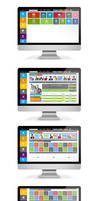 Admin Panel User Interface Students