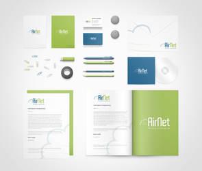 AirNet Logo Design by vasiligfx
