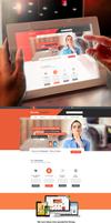 Corporate Portfolio Web Design by vasiligfx