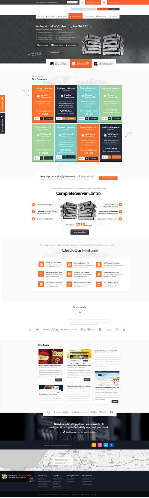 how to create a web hosting company