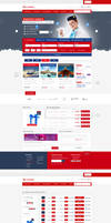 AirSERBIA - Web Design Concept
