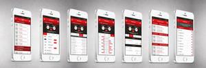 Football Schedules App Design