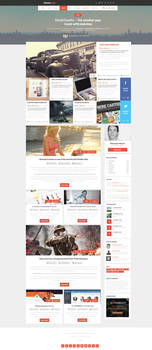 Blog Magazine Web Design