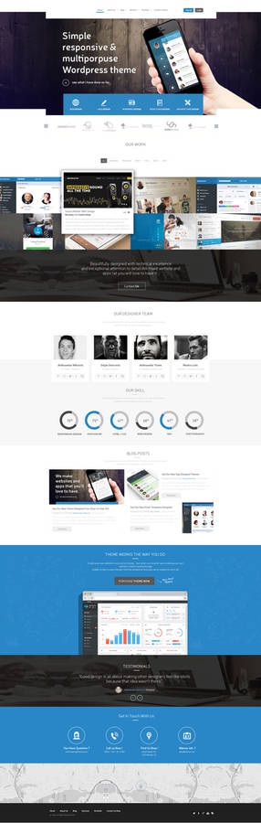Portfolio Creative Agency Web Design SOLD
