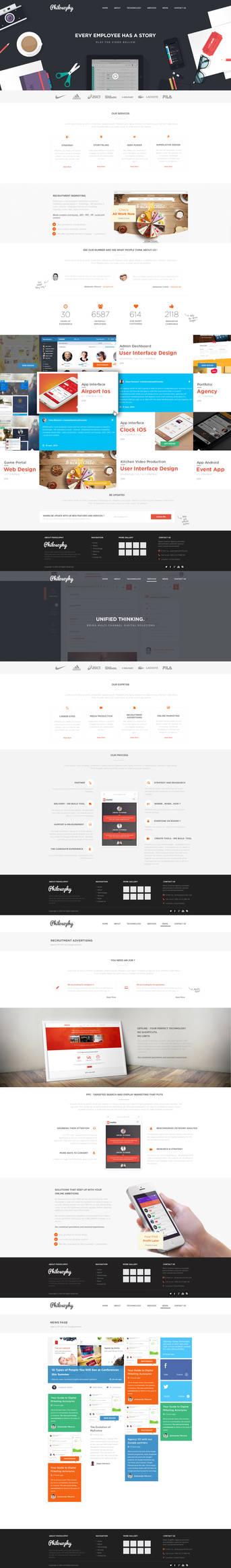 Branding Agency Web Design
