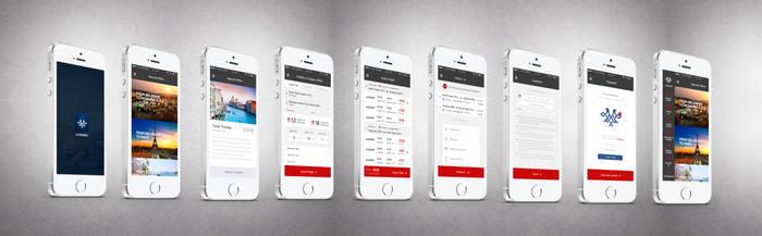 Air Serbia Flight Search App