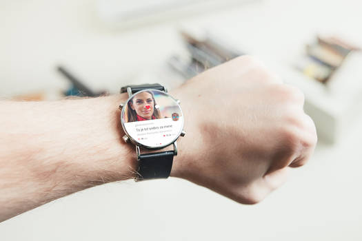 Instagram Android Wear Concept UI